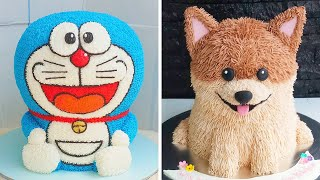 12 Fun And Creative Animals Cake Decorating Ideas For Birthday | Yummy Chocolate Cake Recipes