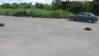 Упражнение змейка на учебной площадке