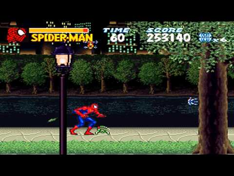 Amazing Spider-Man, The - Lethal Foes (Japan) ROM < SNES