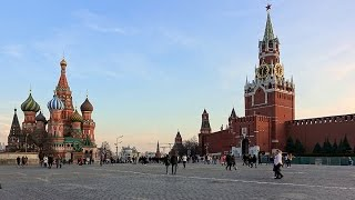 Moscow, Kremlin, Red Square. Москва, Кремль, Красная площадь. 4K video