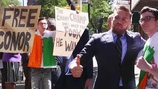 Conor McGregor Superfan Meets The Man Himself