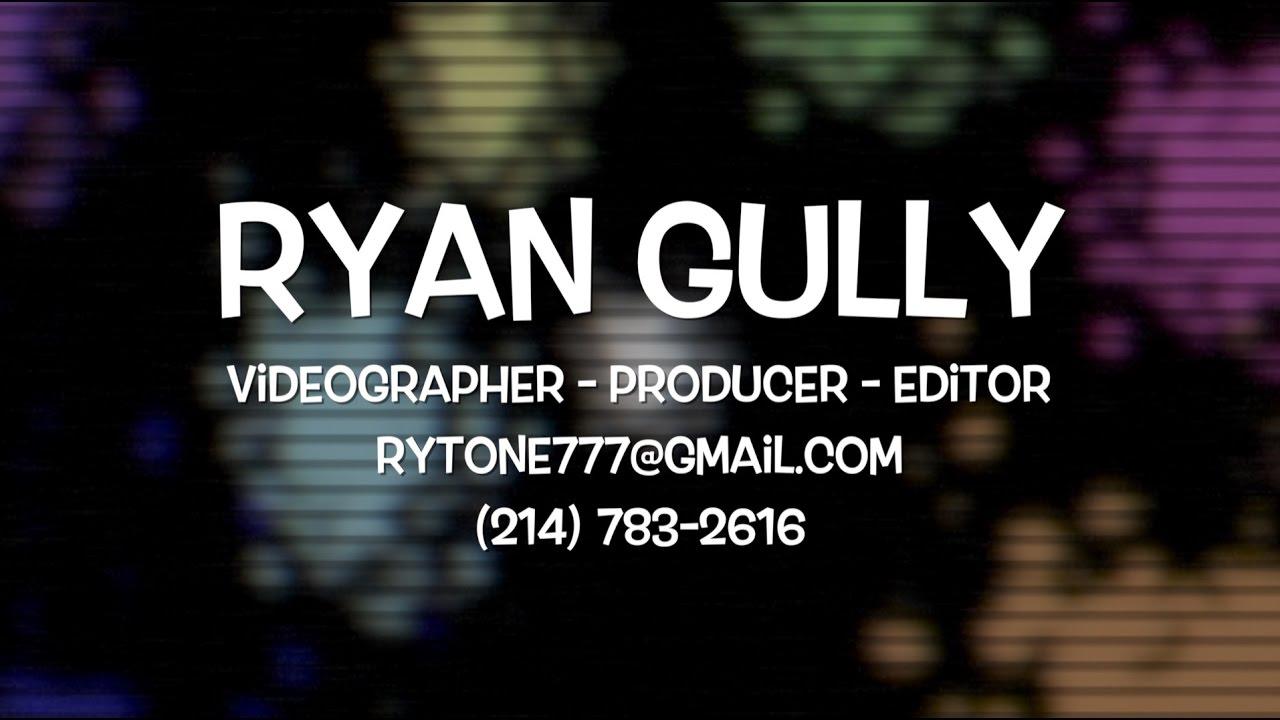 Ryan Gully Demo Reel