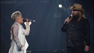 """Pink And Chris Stapleton  """"Love Me Anyway"""" (LIVE) Madison Square Garden"""