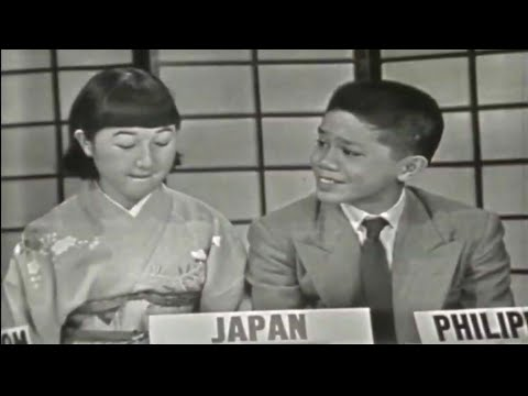 1956 High School Exchange Students in USA Debate on Prejudice (2): Philippines, Japan, UK, Indonesia