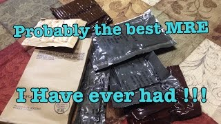 Eversafe MRE Review Ration Menu No, 1 Spaghetti With Meat And Sauce High Quality Kid Friendly