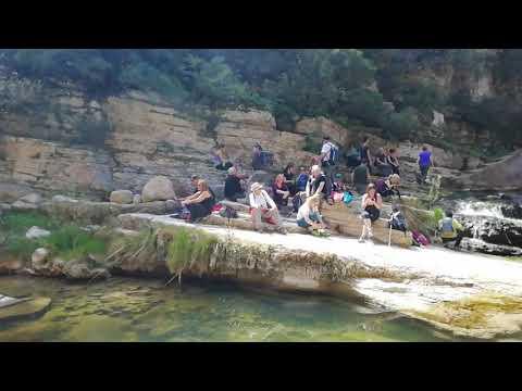 En el Gorg Negre del Río Gaia cerca del pueblo de Gaia