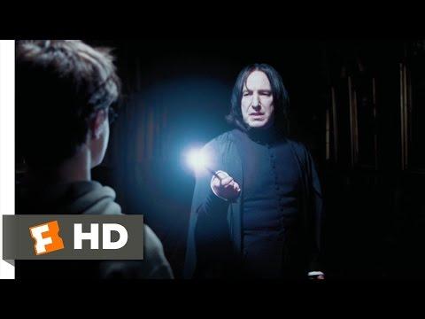 夜中にスネイプに見つかるハリー