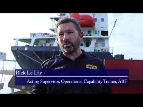 Bea Cukai dan Australian Border Force Adakan Vessel Search Course