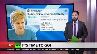 Sturgeon backs independence vote over Brexit Party success in polls