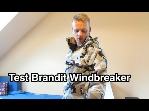 Обзор куртки Brandit Luke Windbreaker