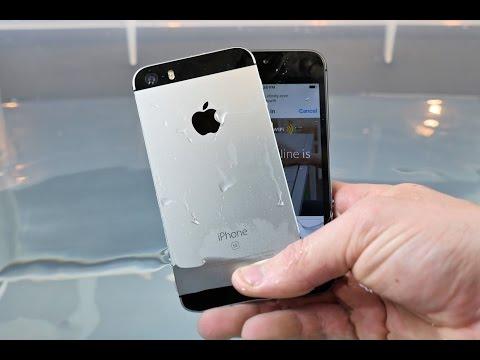 iPhone SE vs 5S Water Test! Waterproof?