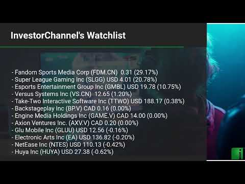 InvestorChannel's Esports Watchlist Update for Tuesday, Ma ... Thumbnail