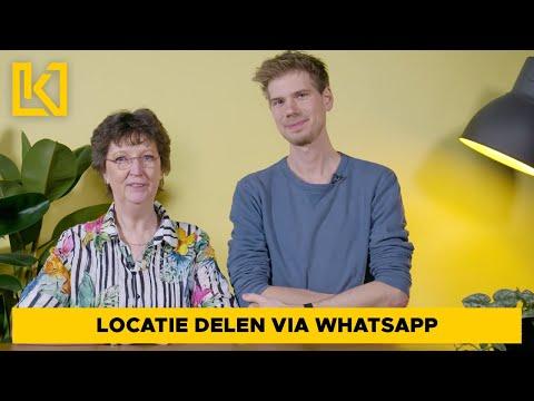 Technisch leven tip 6 - Locatie delen (WhatsApp)
