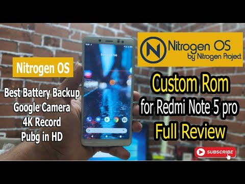 NitrogenOS Pie 9 0 On Redmi Note 5 Pro    How's It? (Whyred