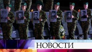День всенародной памяти жертв Великой Отечественной войны проходит в Белоруссии.