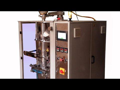Automatic Collar Type FFS Machine With Servo Auger Filler
