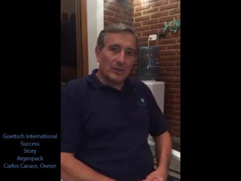 Vea el testimonio de Carlos Cacace, Argenpack