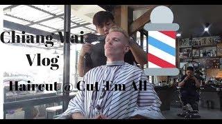 ASMR Skinfade Haircut At Cut 'Em All Barbershop (Chiang Mai)
