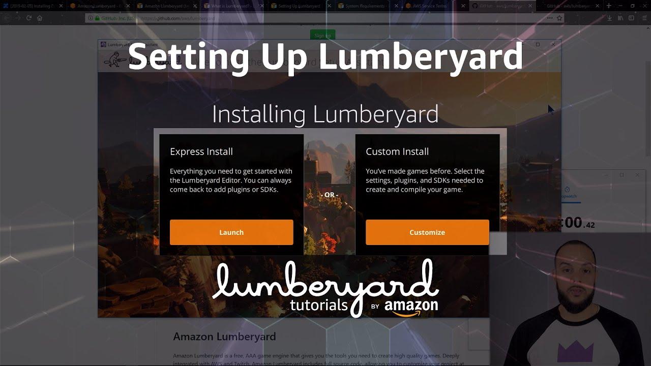 Install the Amazon Lumberyard Game Engine | Lumberyard Tutorial 2019.04