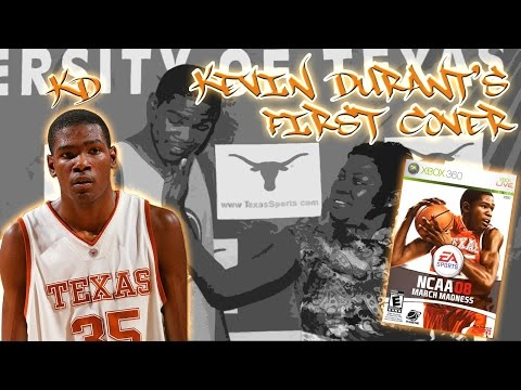 NCAA March Madness 2008 - (XB360) 1080p HD - Kevin Durant's First Cover  | A trip down memory lane