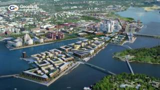 Geotub contributed to new Kalasatama construction in Finland