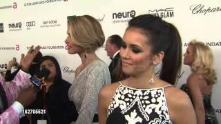Нина Добрев и Йен Сомерхолдер, Nina Dobrev at Elton John AIDS Foundation Presents