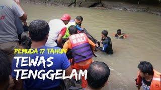Pemuda 17 Tahun Tewas Tenggelam saat Mandi di Sungai Yeh Panan