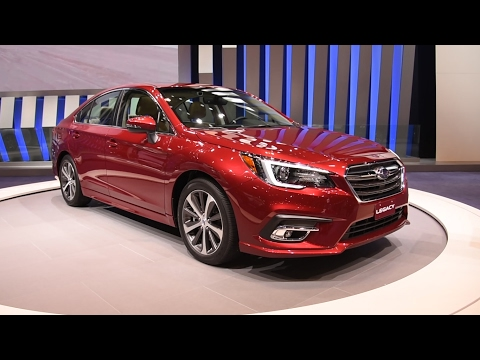 2018 Subaru Legacy First Look: 2017 Chicago Auto Show