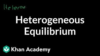 Heterogenous Equilibrium