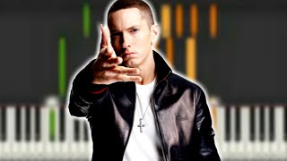 """♬ BASIC CHORDS to EMINEM """" I'M NOT AFRAID Synthesia Piano Tutorial C MINOR - By Soulphonic ♬"""