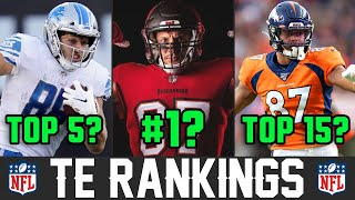Ranking NFL Tight Ends From WORST To FIRST For 2020