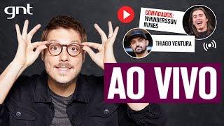 🔴 AO VIVO: Fábio Porchat recebe Whindersson Nunes e Thiago Ventura | Que História É Essa, Porchat?
