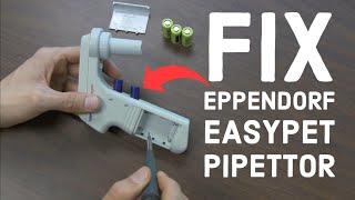 Eppendorf Easypet Pipettor Repair