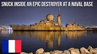 URBEX | Snuck inside a decommissioned destroyer at a naval base