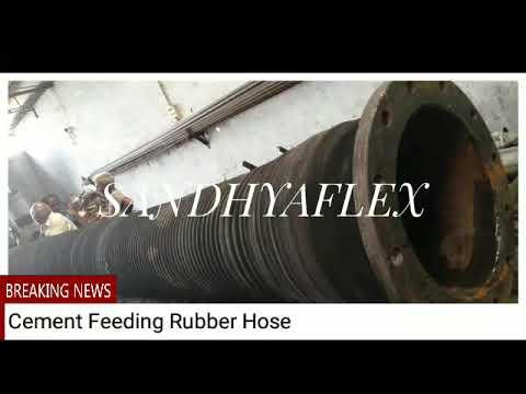 Cementing Black Rubber Hose