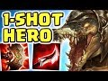 MAX LETHALITY ONE W 1 SHOT JUNGLE RENEKTON ASSASSIN BUILD THIS IS NOT OKAY I 39 LL BE YOUR HERO