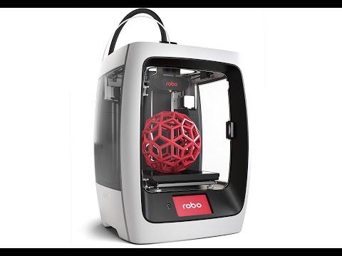 Robo R2 High Performance Smart 3D Printer with Wi-Fi — 8 x 8 x 10