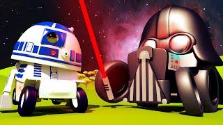 Autogaráž pro děti - Z malého Francise je R2D2 z Hvězdných válek