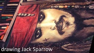 Speed Drawing: Jack Sparrow | Diana Díaz (Reupload)