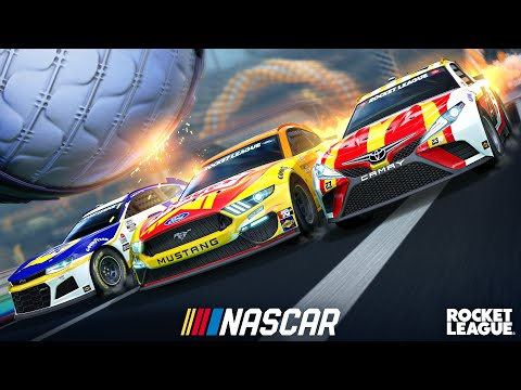 Rocket League NASCAR Fan Pack Trailer