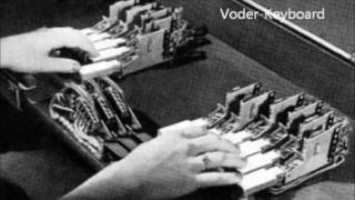 The Voder: 1939,  the worlds first electronic voice synthesizer