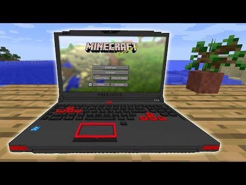 DEVICE MOD – Laptop que FUNCIONA en Minecraft – Minecraft mod 1.11.2 Review