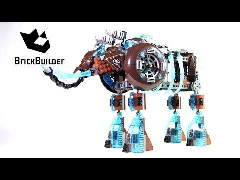 Vidéo LEGO Chima 70145 : Maula, Le mammouth des glaces
