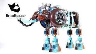 Lego Chima 70145 Maula's Ice Mammoth Stomper - Lego Speed build
