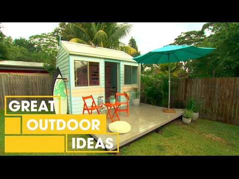 How To Build A Budget Surf Shack | Outdoor | Great Home Ideas