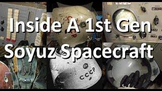 See Inside a 50 year old Soyuz Capsule - 1960