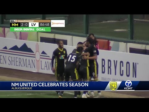 New Mexico United head to the playoffs