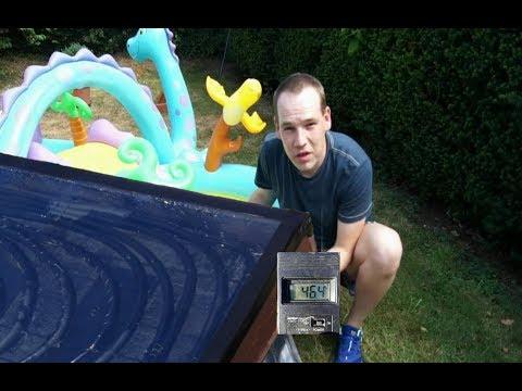 Solarkollektor DIY Low Budget Eigenbau Solar Poolheizung Solarheizung Part 2