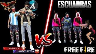 EMPEZAMOS EN ESCUADRA Y TERMINAMOS EN DÚO VS SQUAD CON ANTRONIXX/CLASIFICATORIA/HEROICO •FREE FIRE•