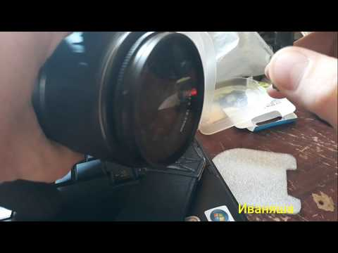 Распаковка бандероли с Китая. Купил ультра-фиолетовый фильтр для своего фотоаппарата Canon 400D.